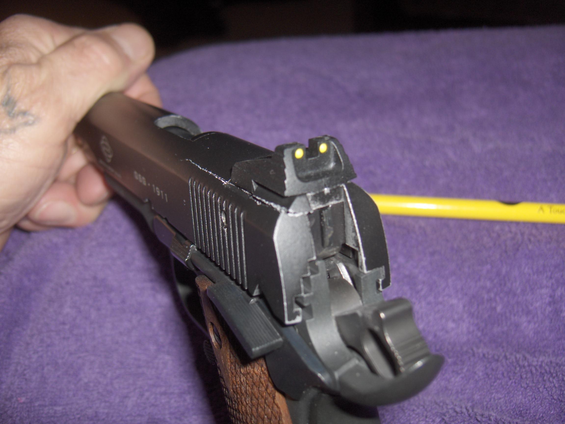 Gsg 1911 22  slide cracked-hpim0653.jpg