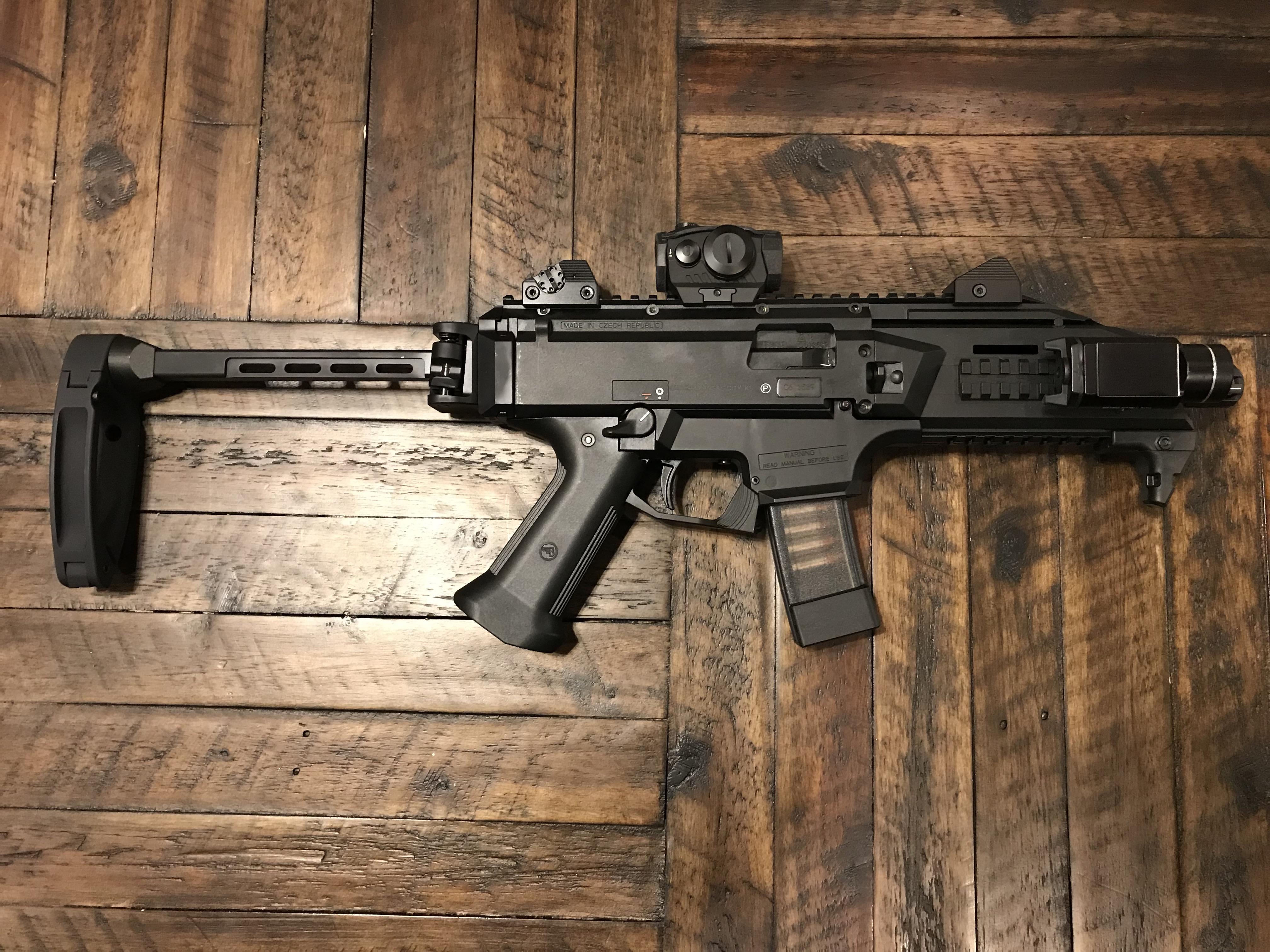 My new CZ Scorpion EVO pistol