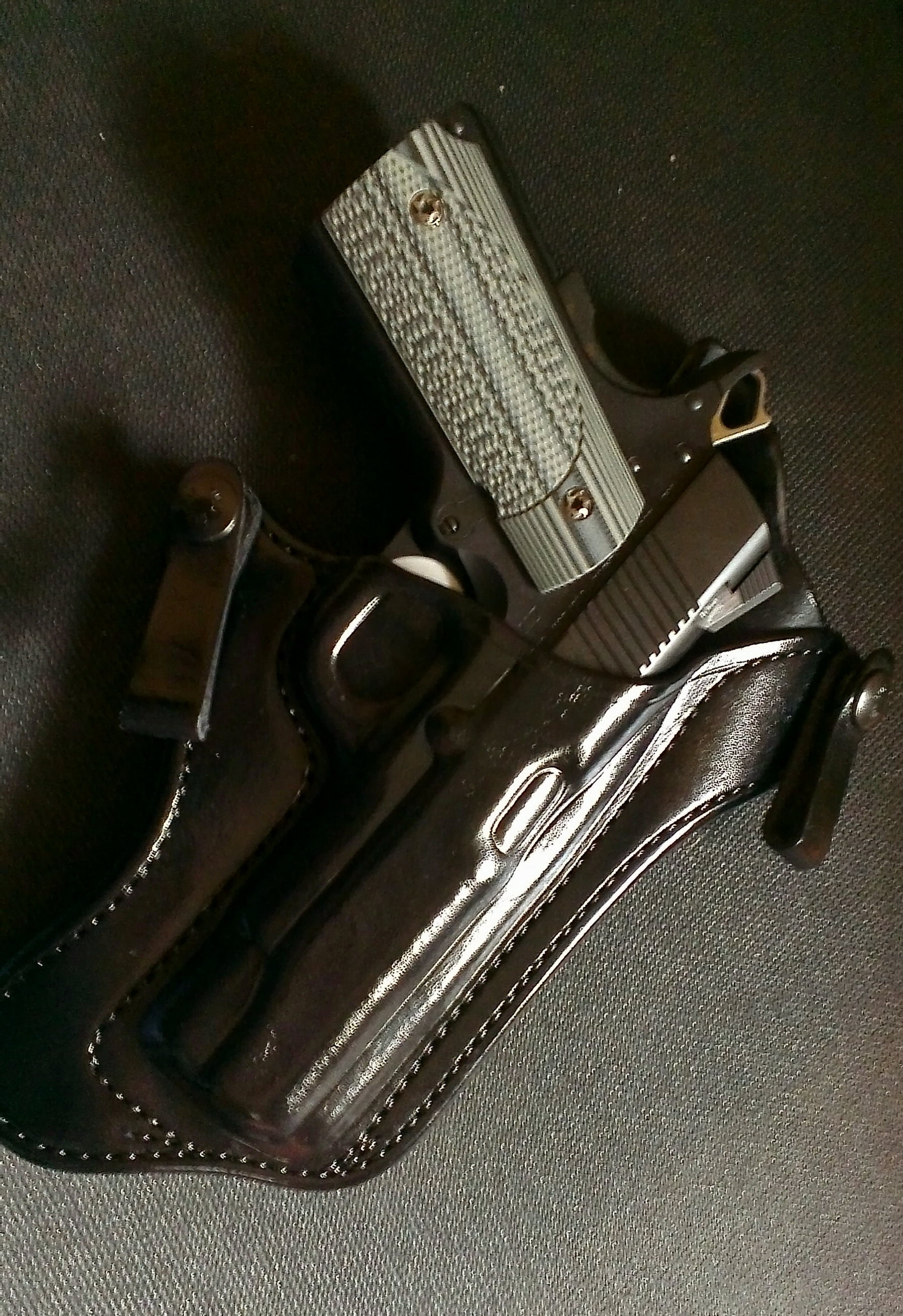 Decision time  Final answer is    DAN WESSON  But which holster?