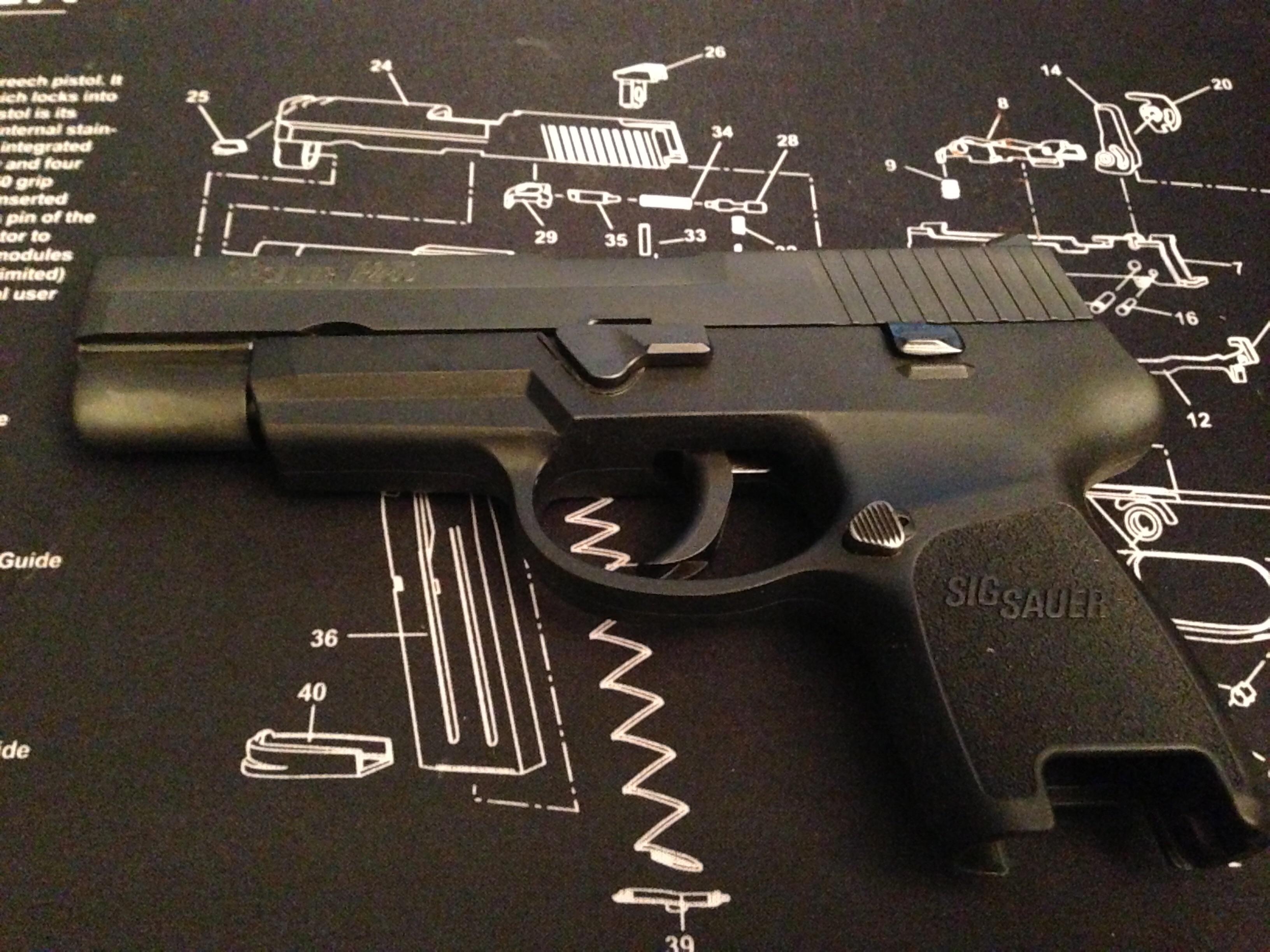 Sig P250 subcompact  Any reviews?