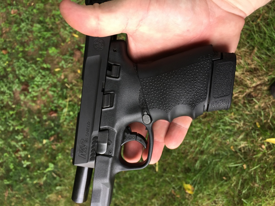 Smith & Wesson  45 Shield review