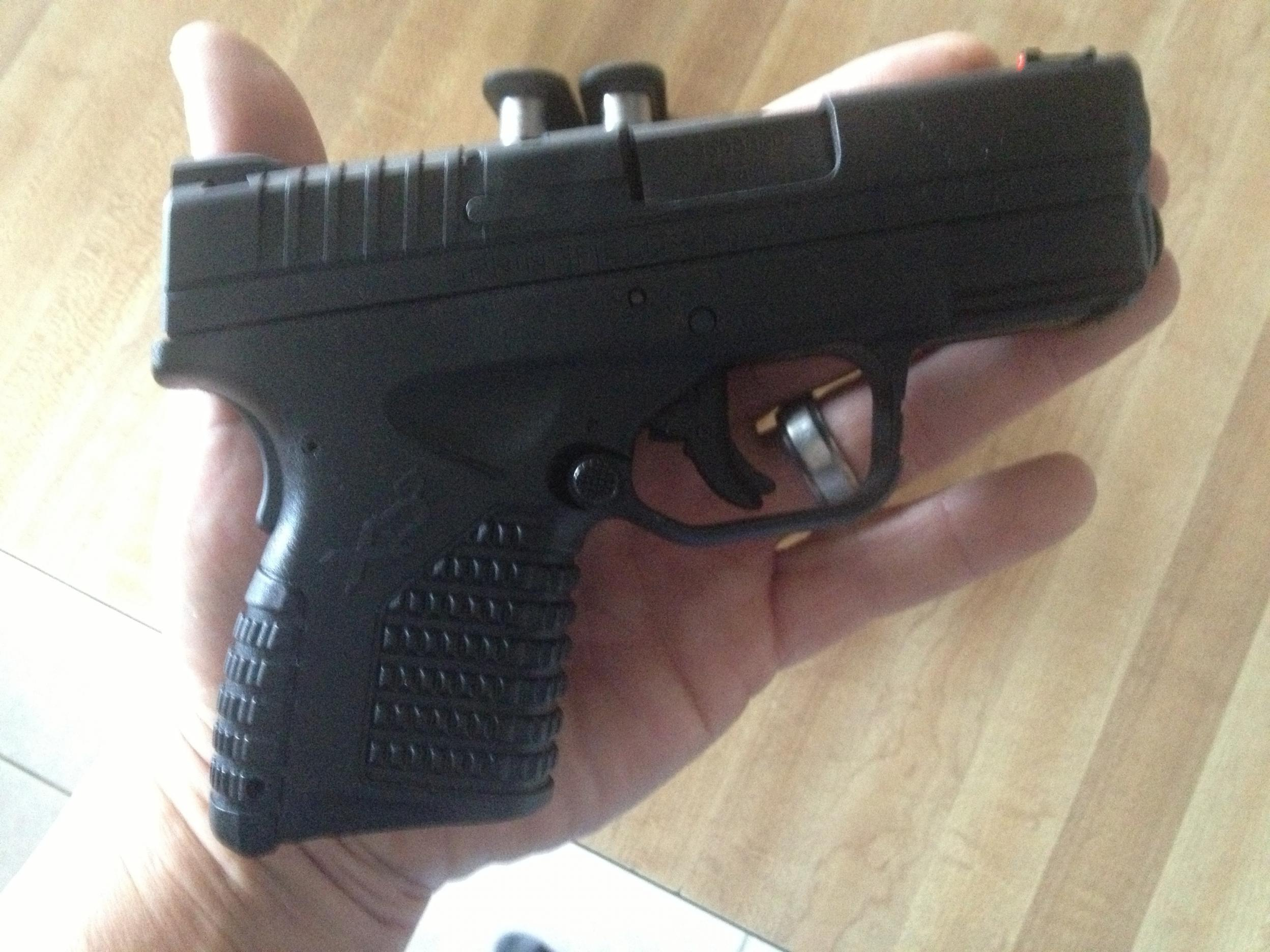Picked up springfield xds 45 today.-image.jpg