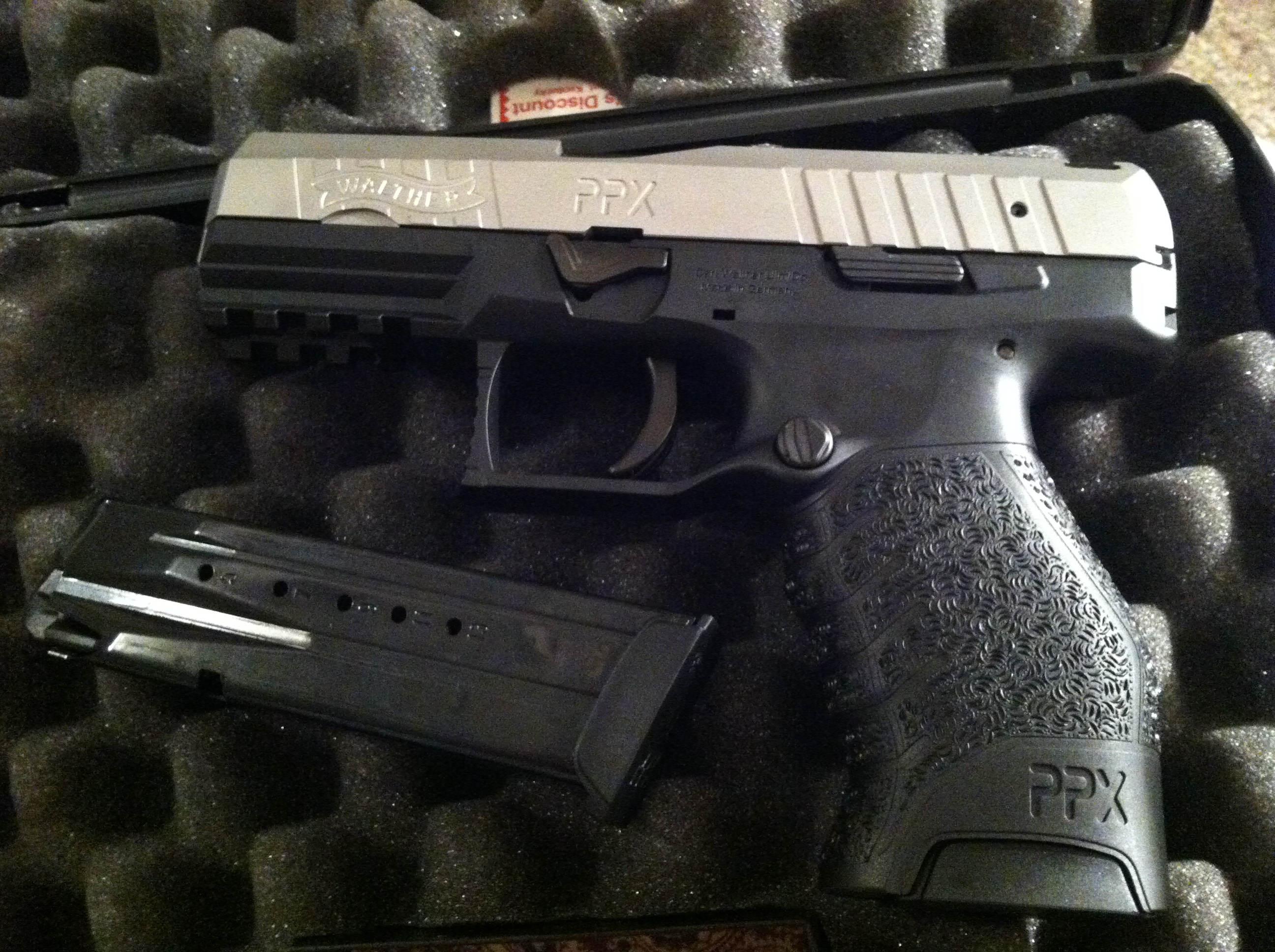 My new Walther PPX