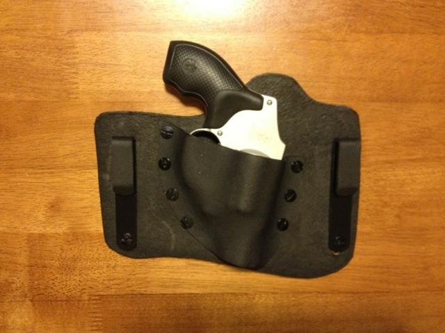 Kydex holster for J frame