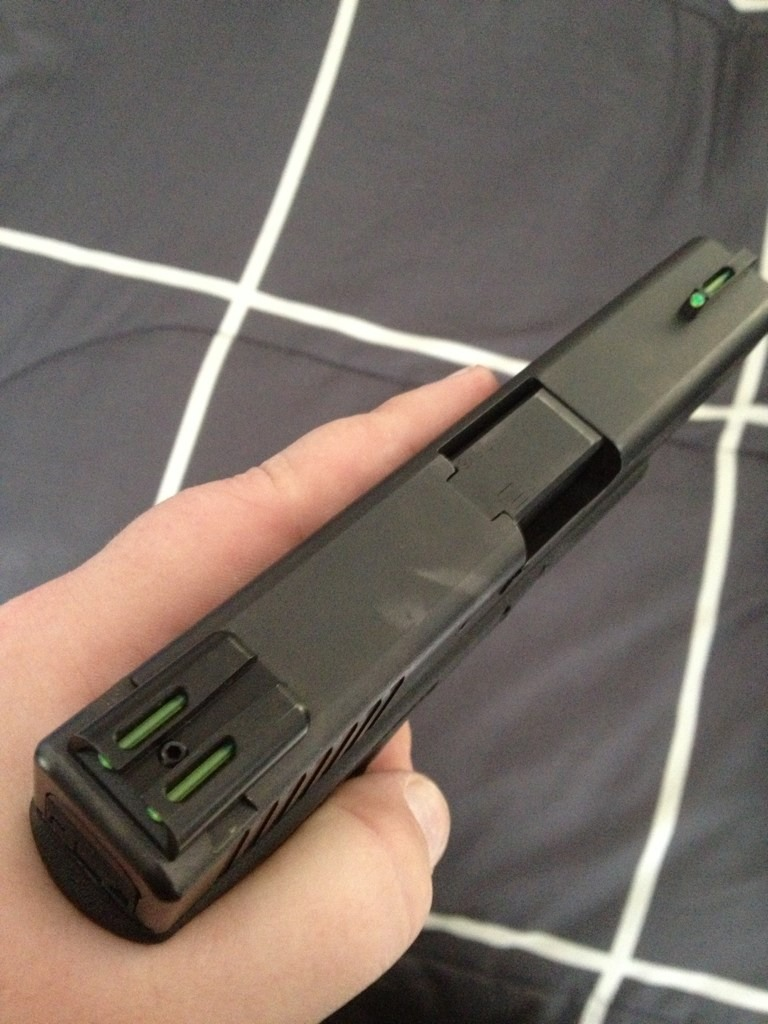 New Truglo TFO's on the glock.-imageuploadedbytapatalk1357607077.456010.jpg