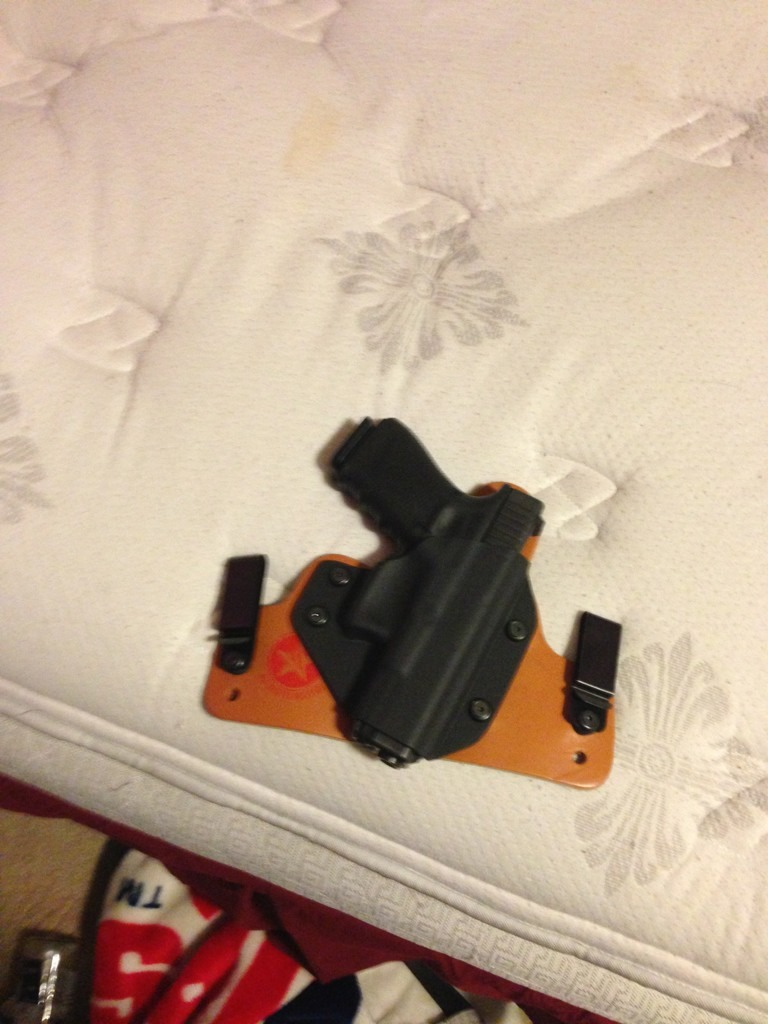 Got my old faithful holster today-imageuploadedbytapatalk1369102022.414083.jpg