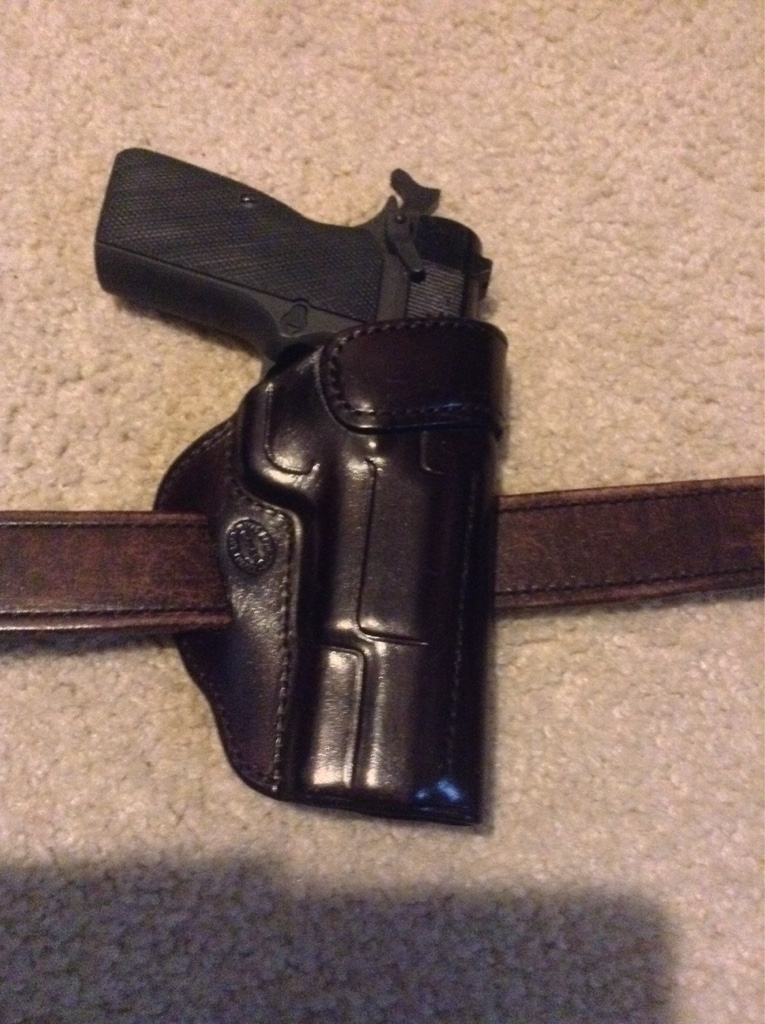 Looking for a leather, owb, high-ride holster for a Browning