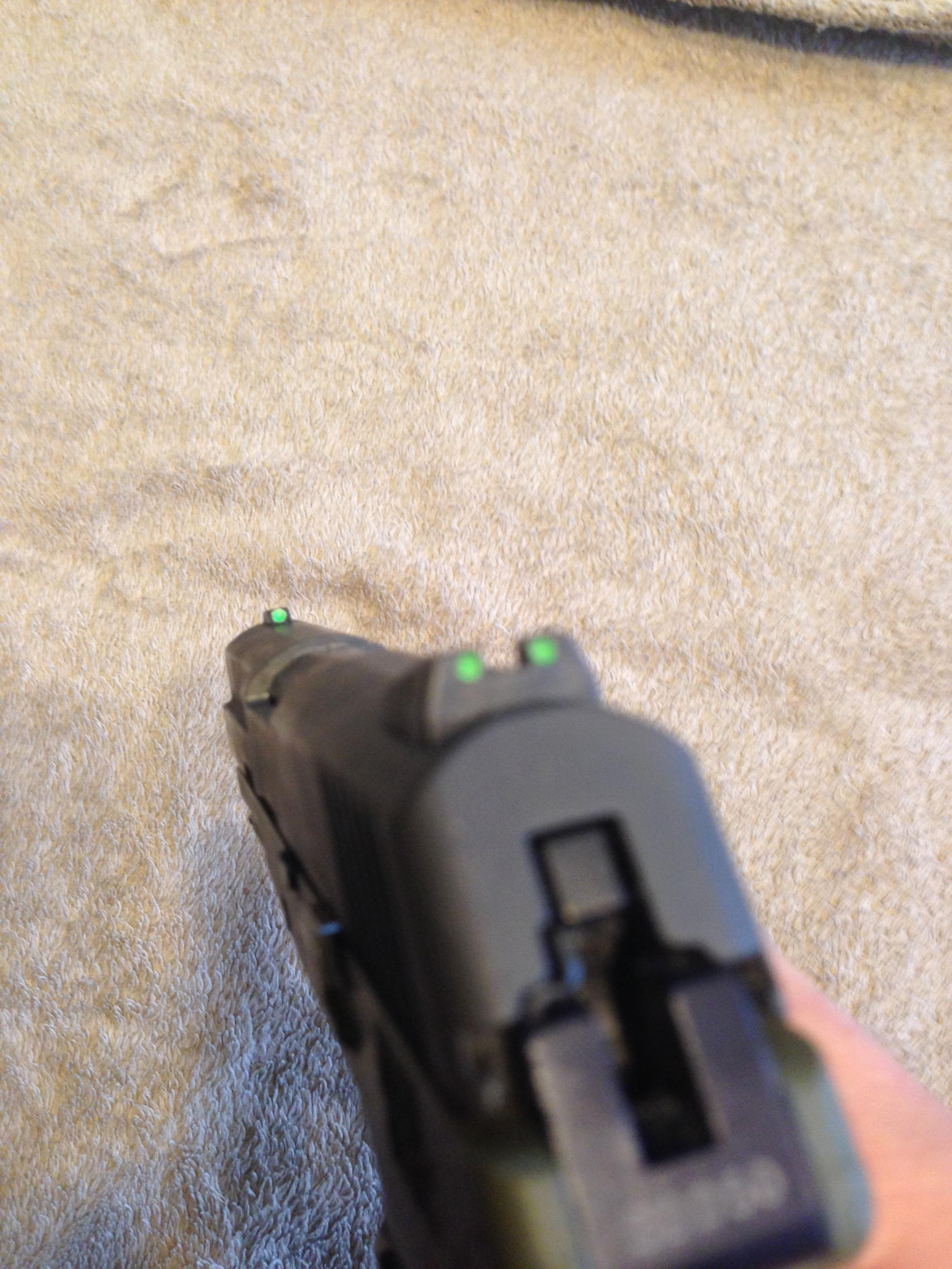 FS: Keltec PF9 Olive Green with Parkerized finish