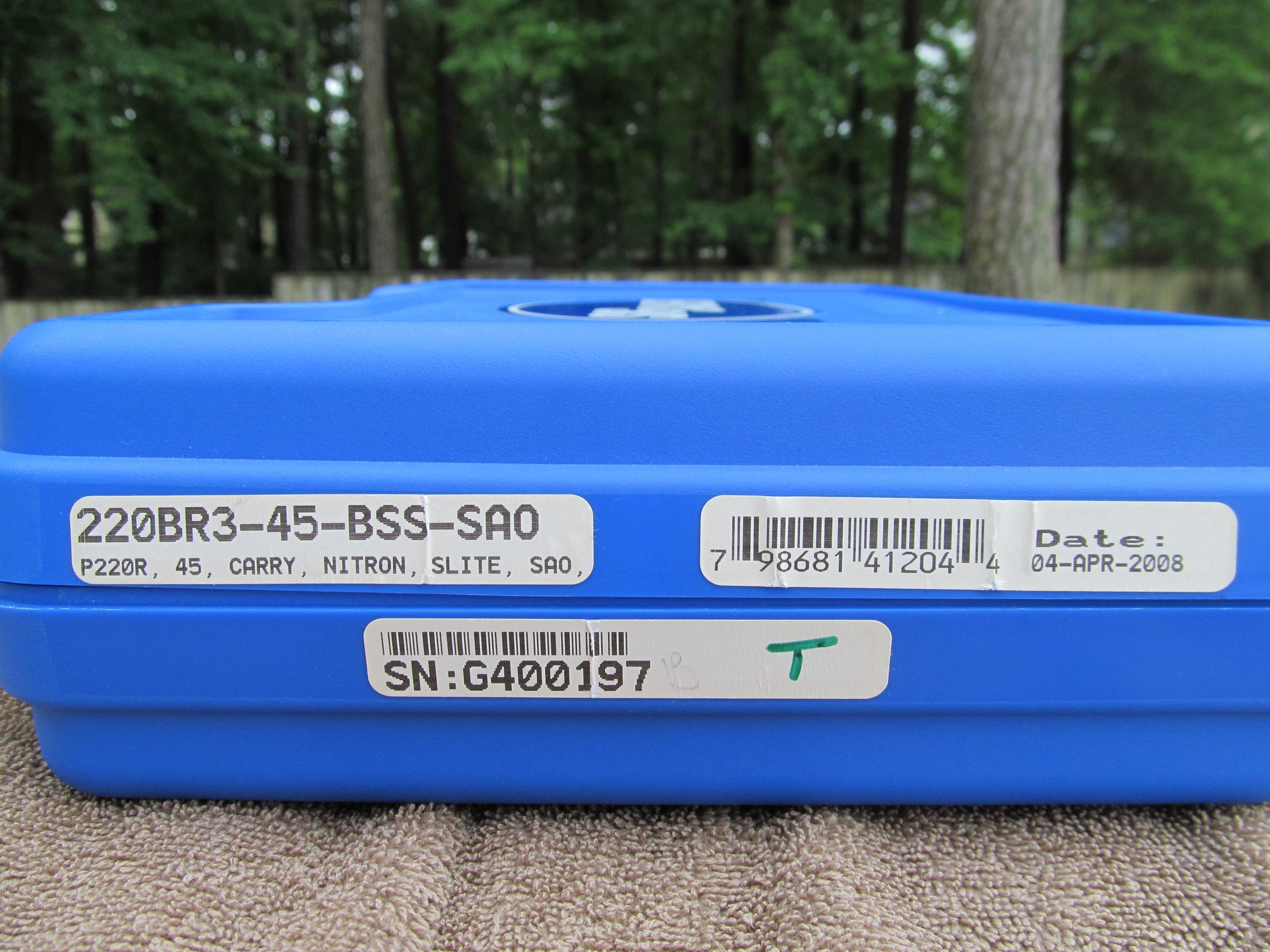 FS: LNIB Sig P220 R Carry SAO - Elite Frame w/ 3 Mags [VA]-img_0045.jpg