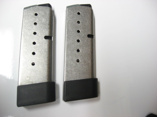 Kahr PM9 or CM9 Kramer Leather Pocket Holster and Two 7 Round Kahr 9mm Magazines-img_0066.jpg