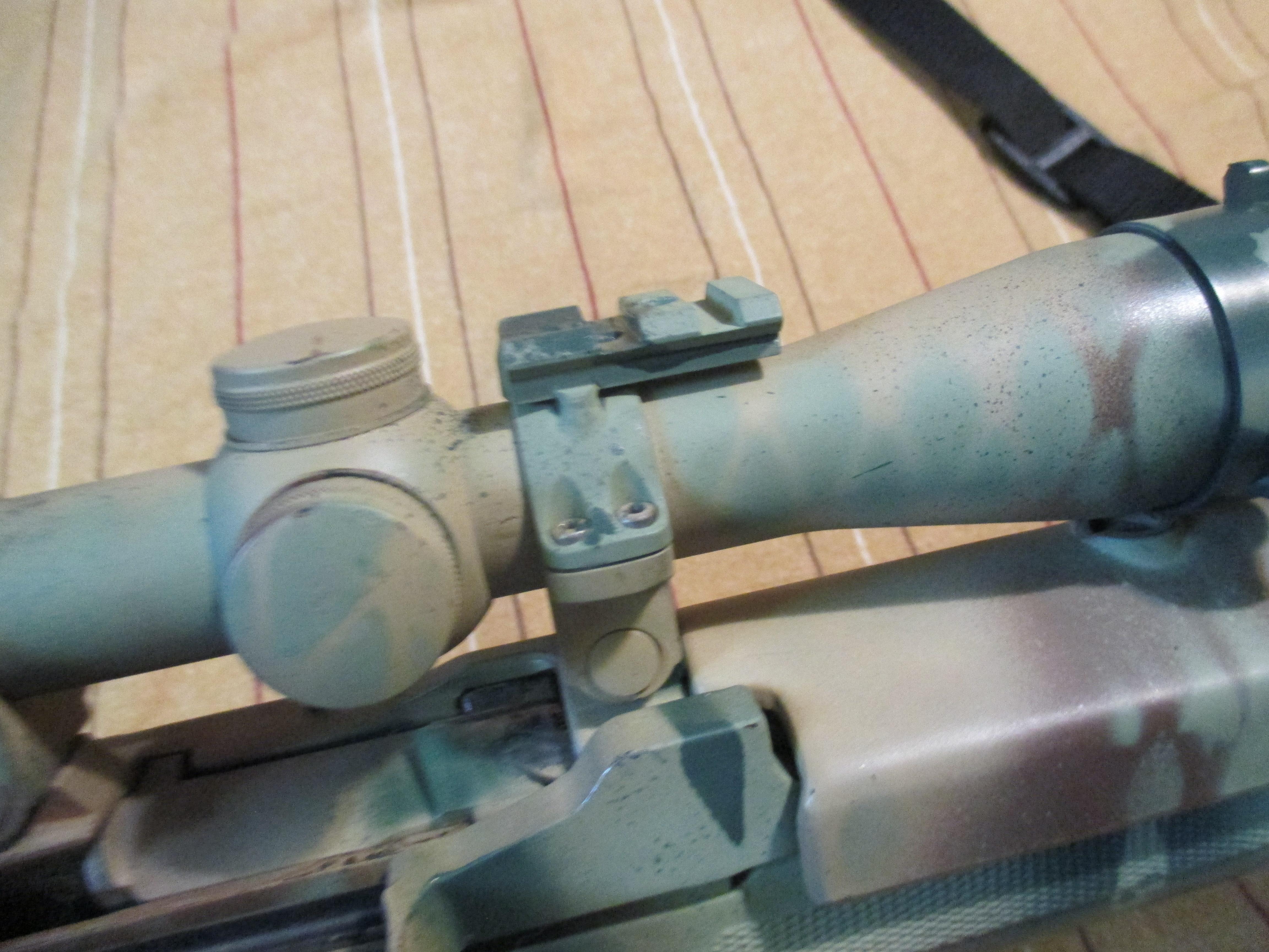 new mini 14 scope or reflex rmr