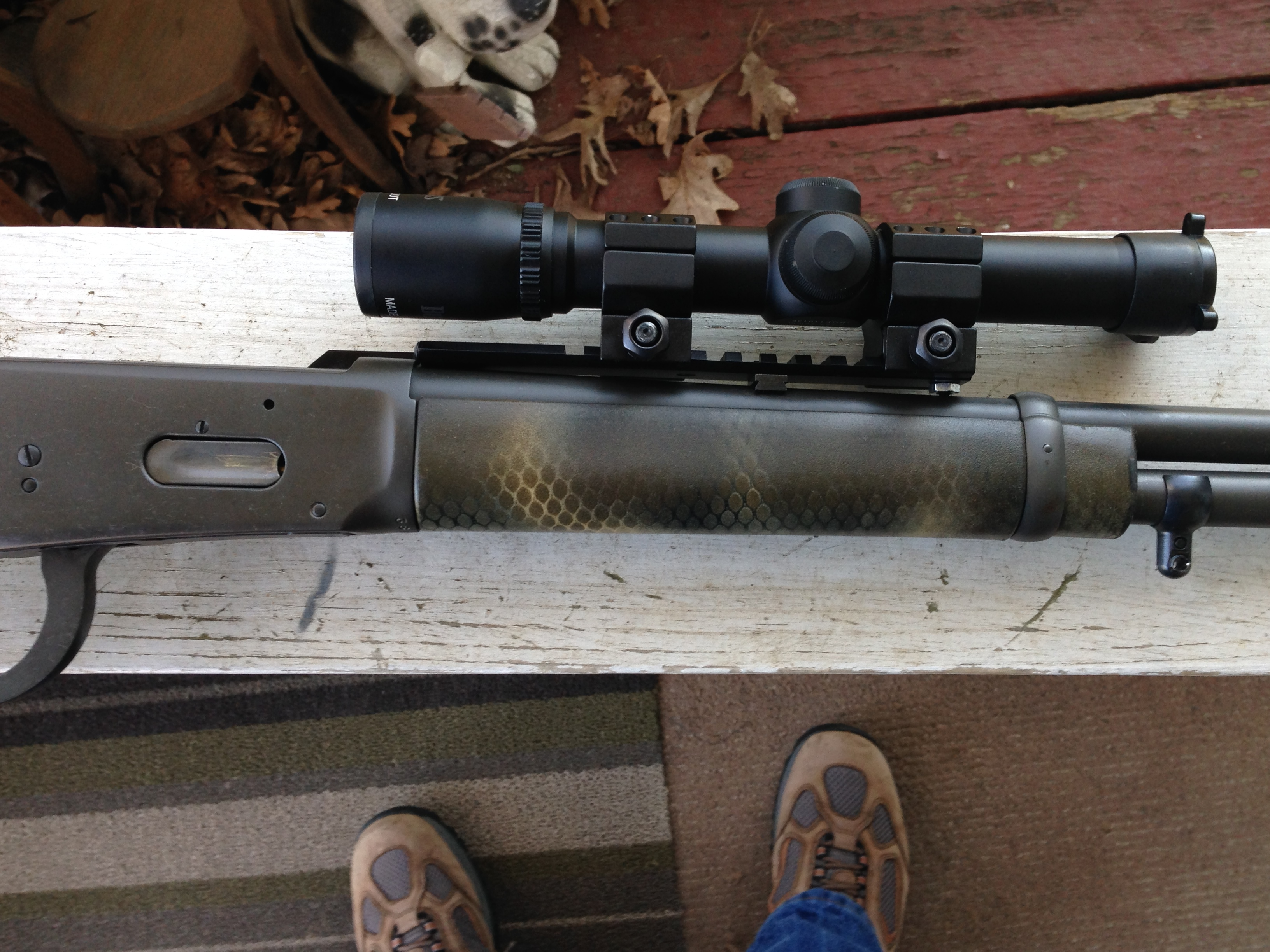 Ruger Gunsite Scout Rifle choice of optics