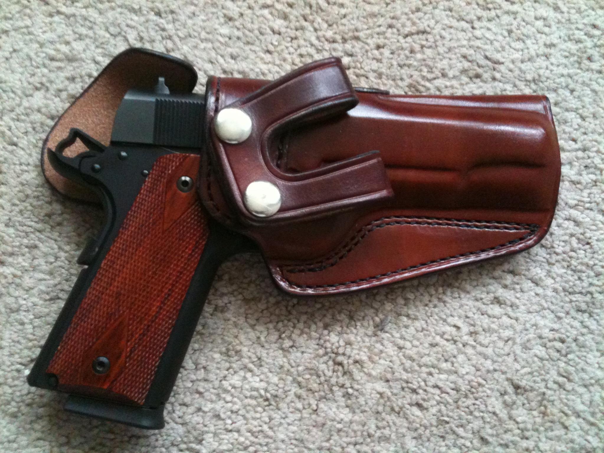"FS: K.C. Custom Gun Leather Holster 5"" 1911 Adjustable Cant (Alabama)-img_0638-1-.jpg"