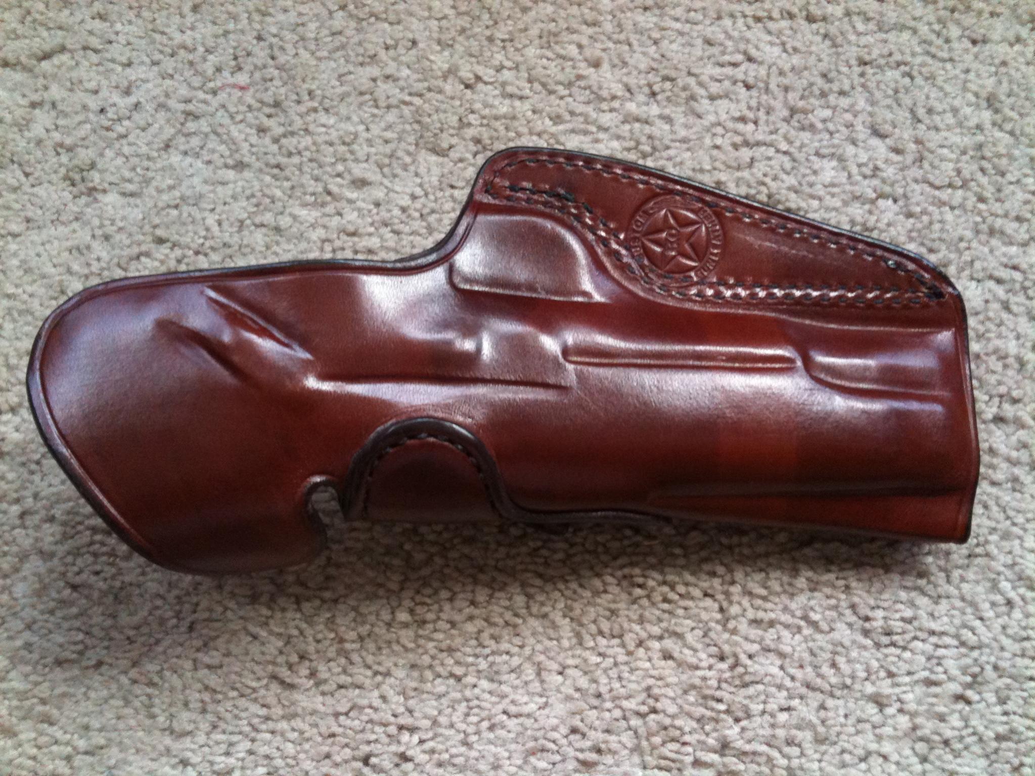 "FS: K.C. Custom Gun Leather Holster 5"" 1911 Adjustable Cant (Alabama)-img_0650-1-.jpg"