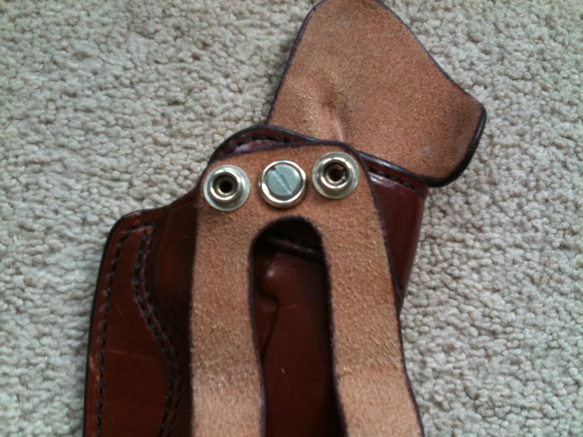 "FS: K.C. Custom Gun Leather Holster 5"" 1911 Adjustable Cant (Alabama)-img_0652-1-.jpg"