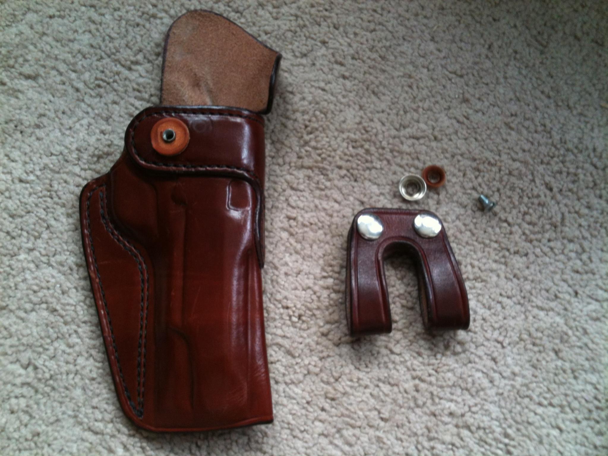 "FS: K.C. Custom Gun Leather Holster 5"" 1911 Adjustable Cant (Alabama)-img_0685.jpg"