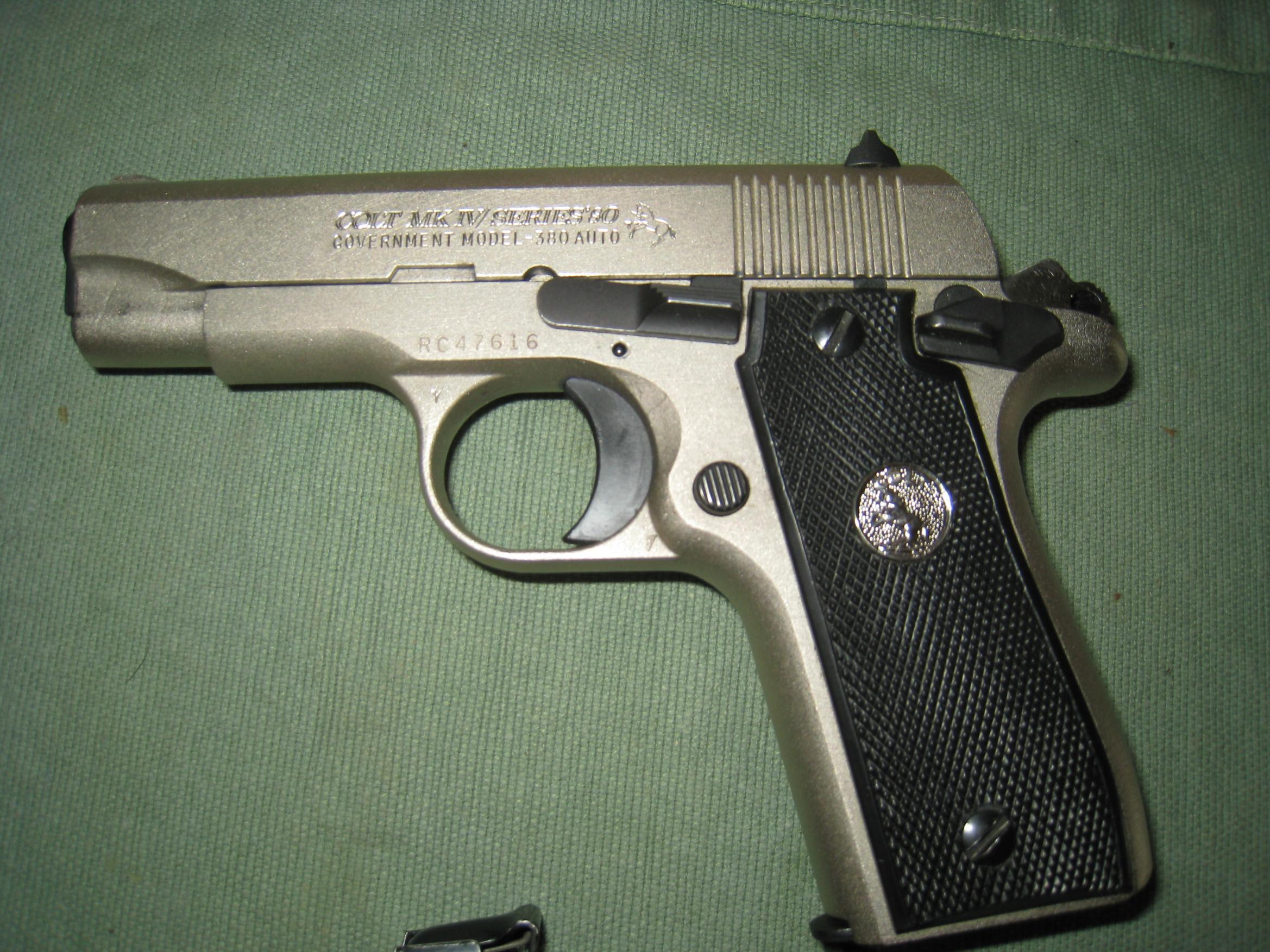WTS Colt MkIV/Series 80 Govt. Model 380. - [KY]-img_0769.jpg