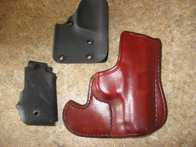 Don Hume Sig P 238 leather pocket holster/ Sig P238 Hogue grip/Shield pocket holster-img_1041.jpg