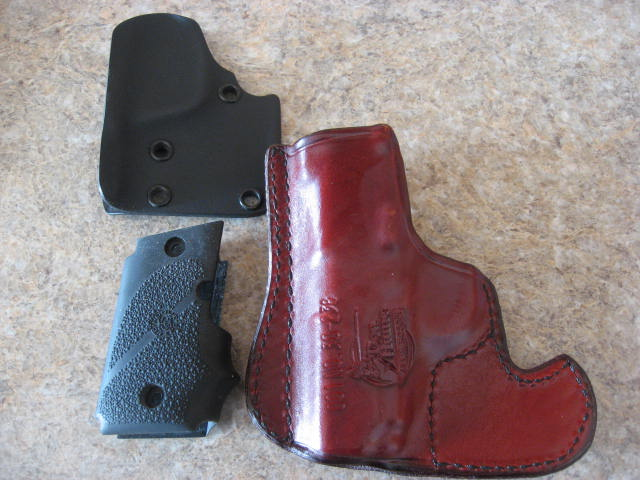 Don Hume Sig P 238 leather pocket holster/ Sig P238 Hogue