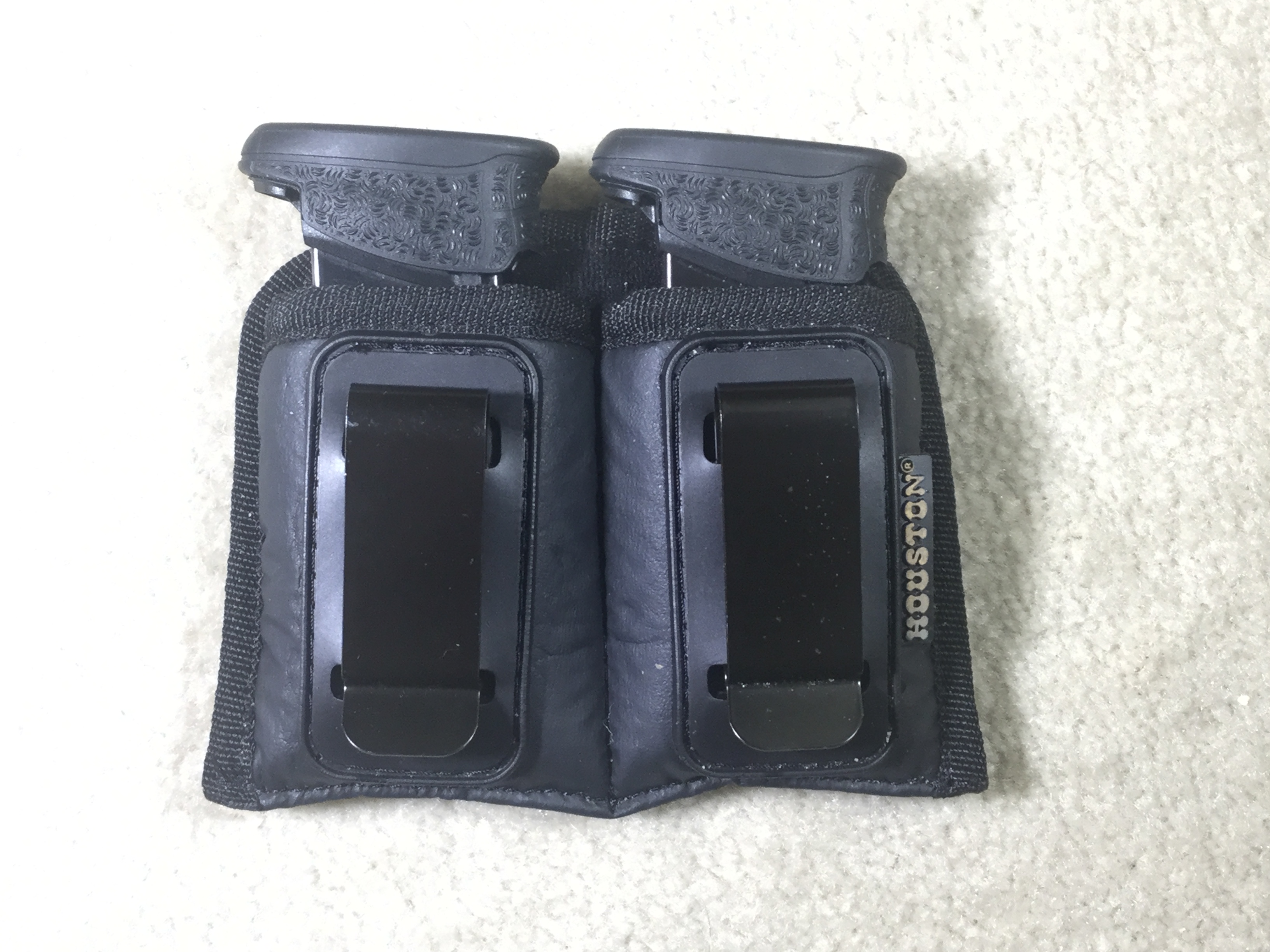 IWB Holster for subcompact pisand two IWB magazine carriers for single stack 9mm mags-img_1128.jpg