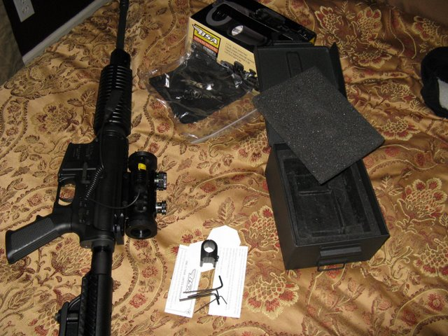 WTS BSA Red/Greeb/Blue Dot sight with laser-img_1727.jpg