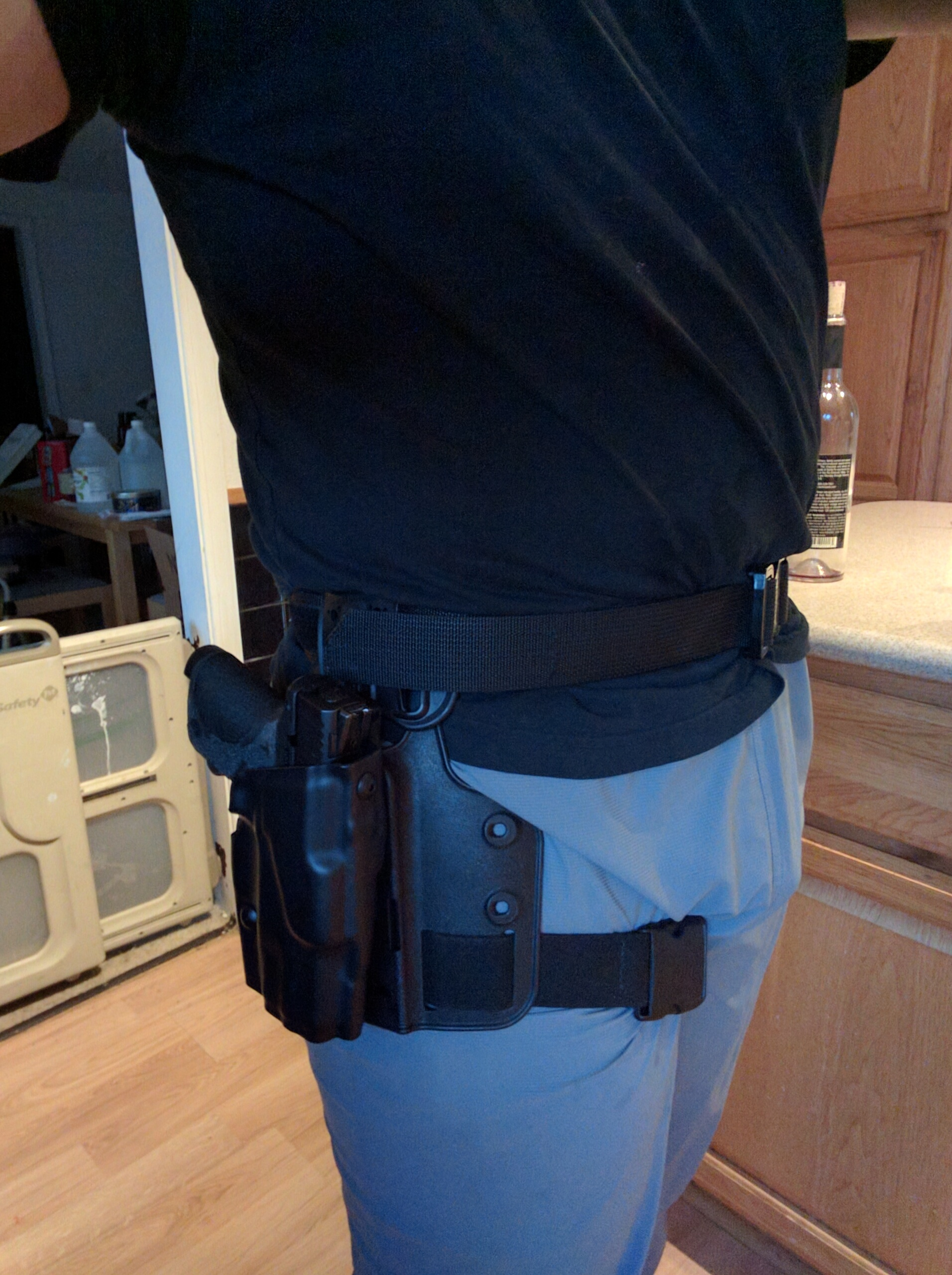 Safariland 6005 Leg Shield and ALS Holster for Running Hiking - Ongoing  reports-img 20151103 165417 32df39386