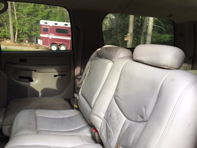 Chevy Suburban: Out of Sight Storage