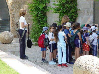 Gun Control was already in effect-israeli_teacher_with_her_class-2-.jpg