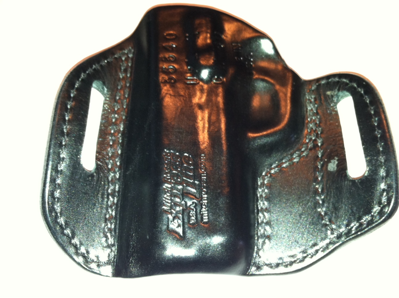 FS: Mitch Rosen UPL EXP OWB Holster for Kahr CW40, Ohio  Shipping Included-kahr1.jpg