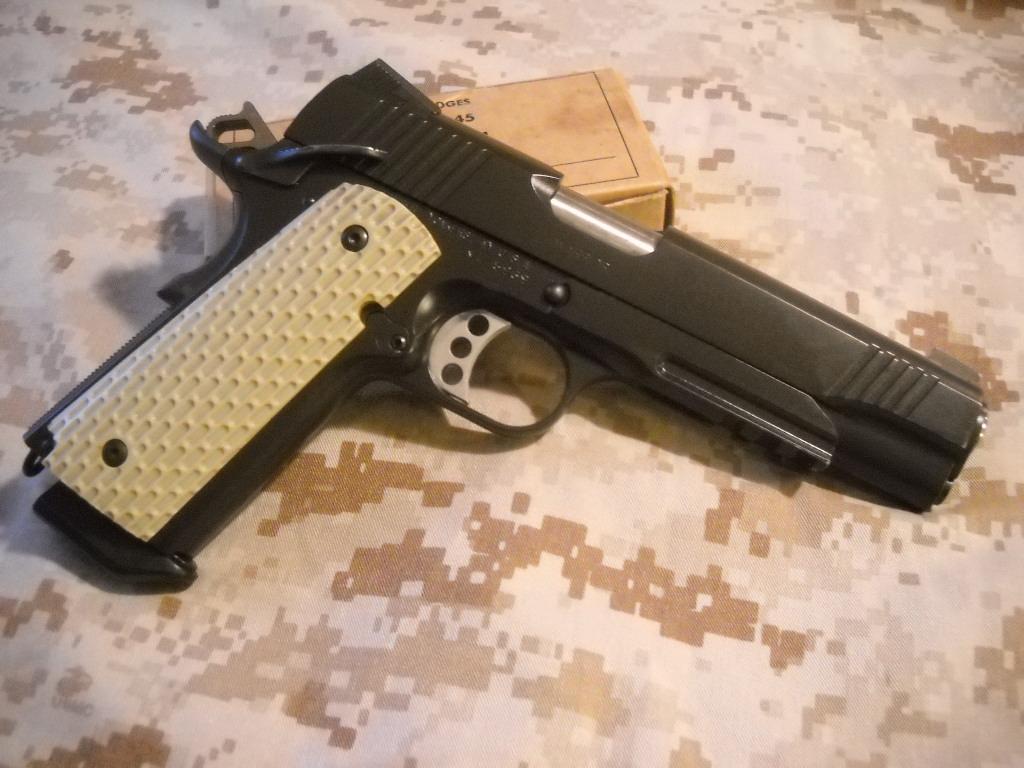 """OK, I like """"fancied"""" up guns.  How have you fancied yours?-kimber.jpg"""