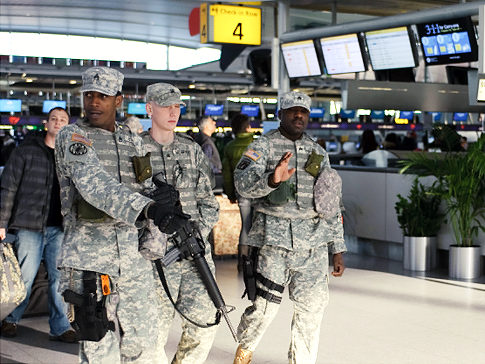 Bloomberg Wouldn't Let Guard Into Brooklyn Over Their Possession of Guns-laguardia.jpg