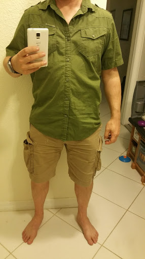 The secret to more than a pocket gun for summer carry, wear a shirt.-m29-concealed-1.jpg