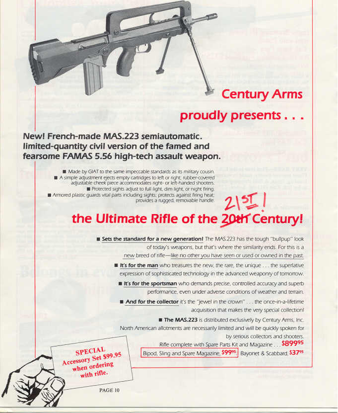 I'm a sucker for French weaponry...is there a way to get my hands on a FAMAS?-mas.223centuryarmsad1988.jpg