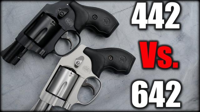 S&W 442 vs 642