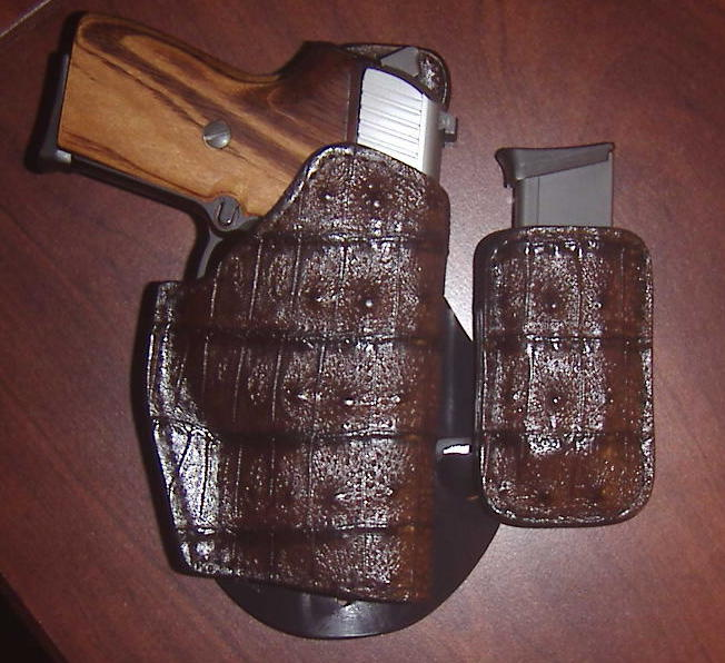 exotic skin paddle holsters ???