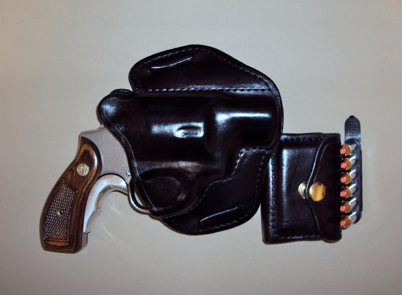 Best OWB Leather Holsters for S&W K Framed Revolvers....Strong Side or Cross Draw....-mod64holster.jpg