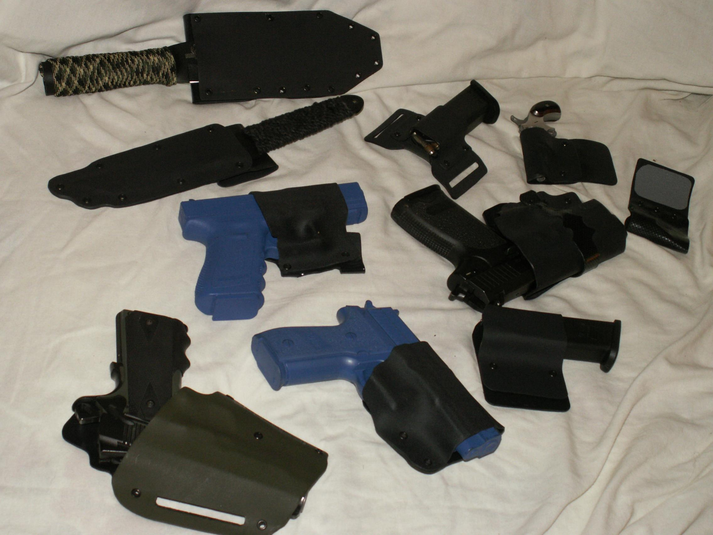 Post pics of your home made Kydex holsters