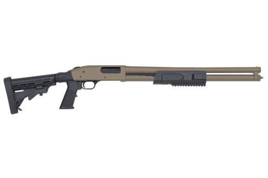 For Sale: Daily Deal - Mossberg 500 Flex tactical 12 gauge pump action shotgun in FDE-mossberg500flextacticalpumpactionshotgun-12gauge.jpg