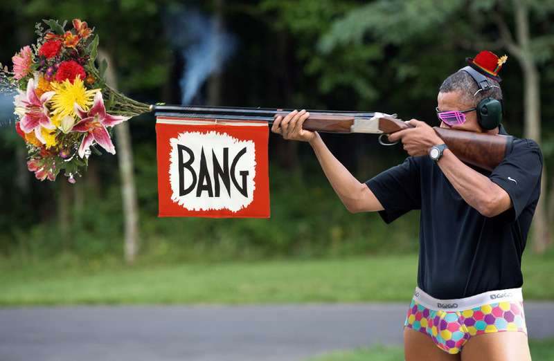 W.H. Releases Photo of Obama Shooting a Gun-obamagunner_zps7da24b03.jpg