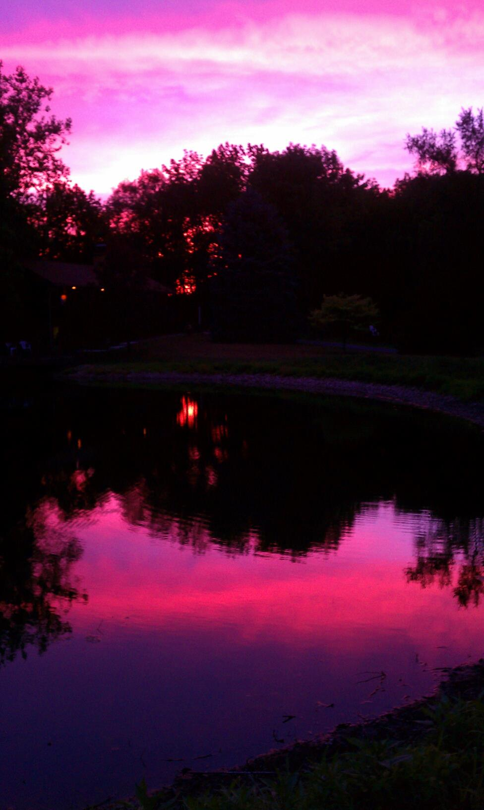 Share your sunset photos........-our-pond.jpg