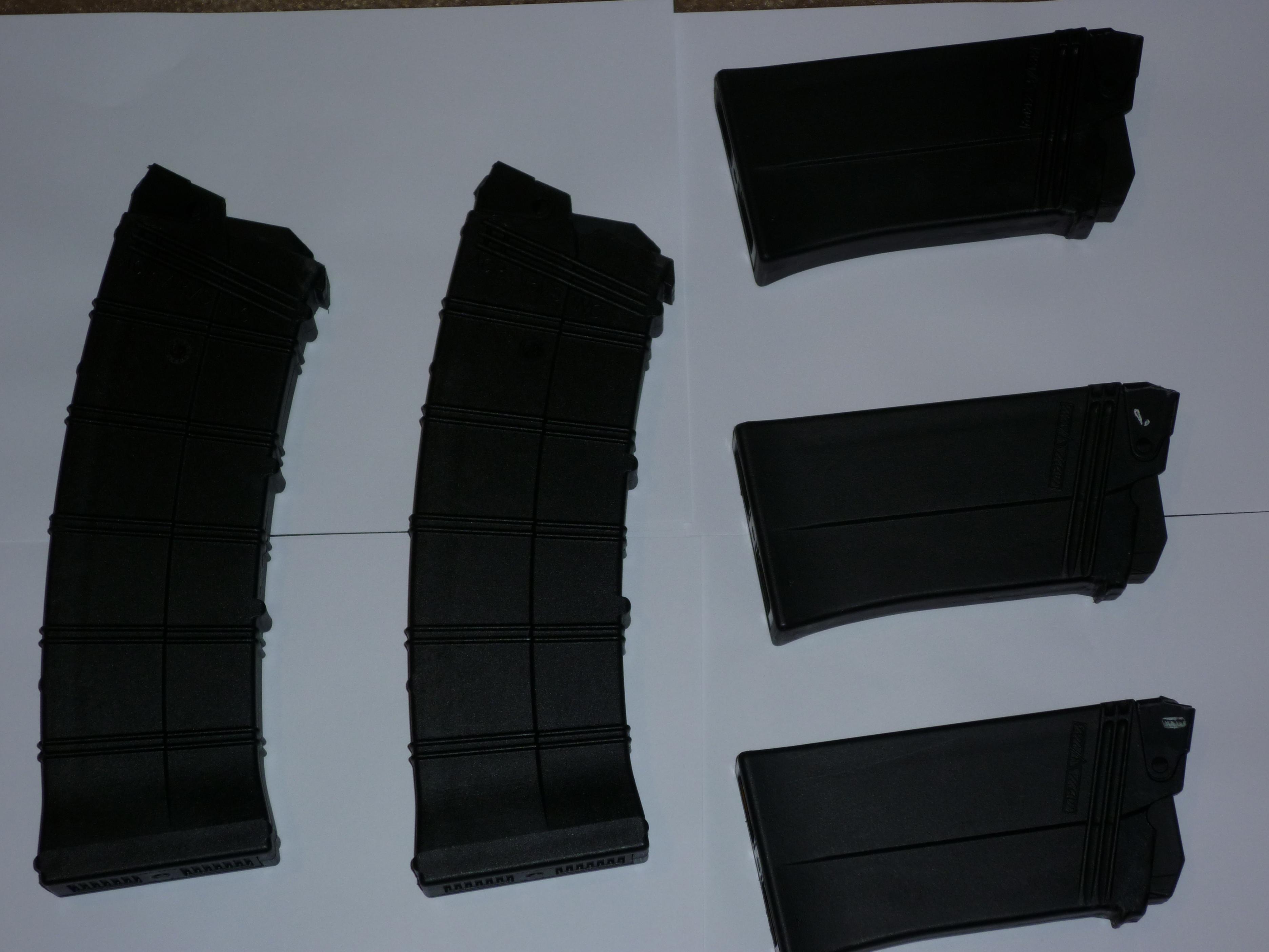 FS: Saiga 12 Mags (3) Izhmash 5rd. and (2) AGP 10 rd. (OHIO)-p1000894.jpg