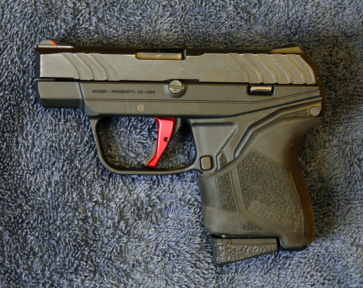 Off with the finger groove... Ruger LCP-p1100935.jpg