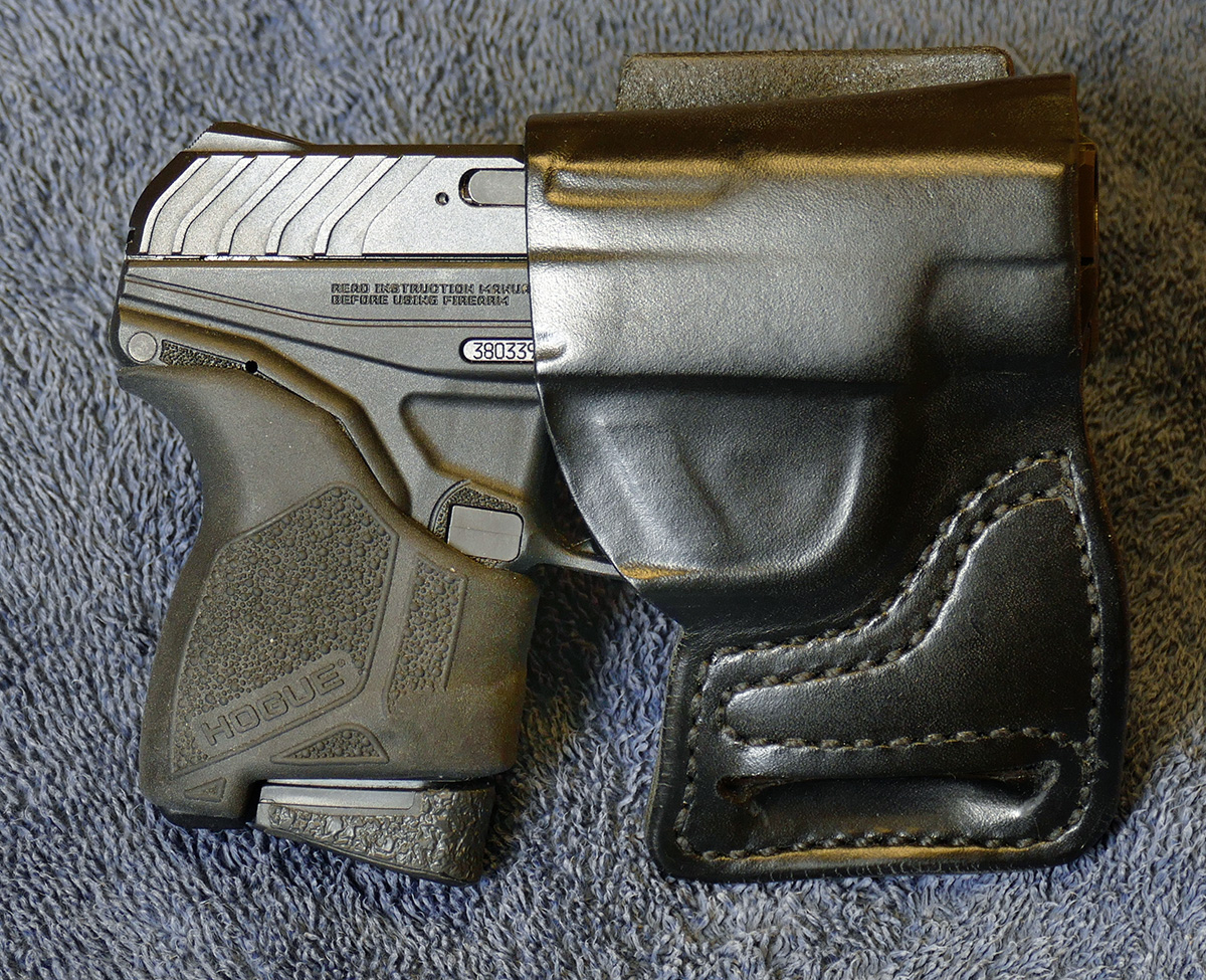 Off with the finger groove... Ruger LCP-p1100937.jpg