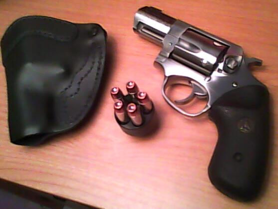 Initial Impressions: Ruger LCR .38 Special +P with Hogue boot grips and XS dot sights-p18174701.jpg