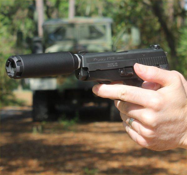 LCP threaded barrel and suppressor