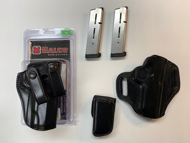 SOLD: 1911 Galco Holsters & WC Magazines-package.jpg