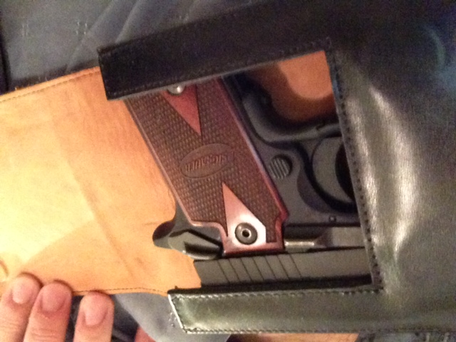 Sig Sauer P238 with Sneaky Pete Holster