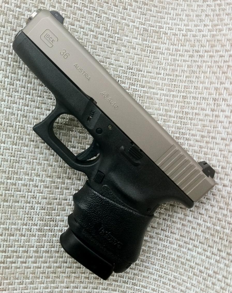 Slip On Rubber Grip For Glock 36....-photo.jpg