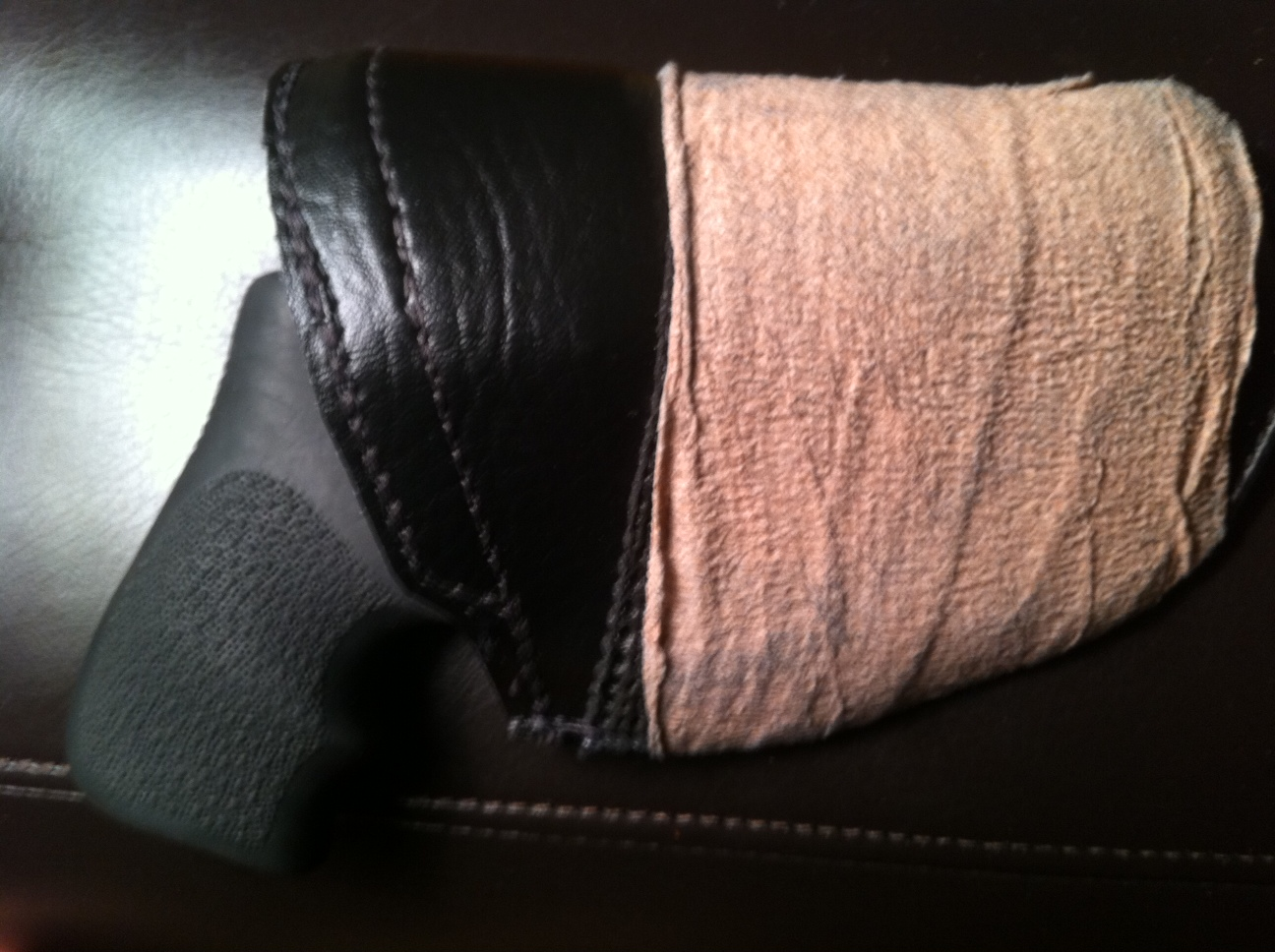 Pocket Holster Review for Ruger LCR-photo.jpg
