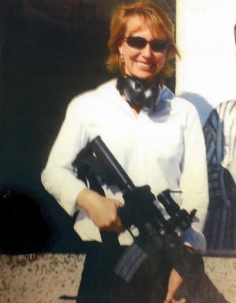 Gabby Giffords with AR-15 - Image Leak-photo.jpg